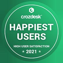 Happiest Users award