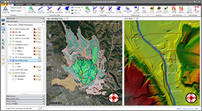 Export flood map animations to Google Earth. This is helpful for presentations on flood risk assessment and flood management.